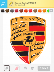 Drawsomething Porsche