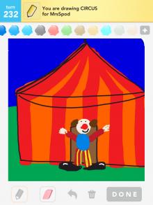 Drawsomething Circus
