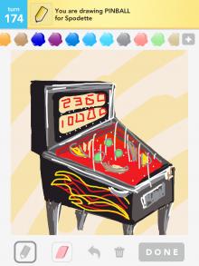 Drawsomething Pinball