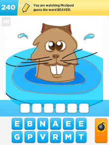 Drawsomething Beaver