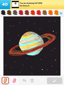 Drawsomething Saturn