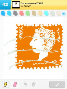 Drawsomething Stamp
