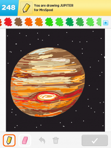 Drawsomething Jupiter
