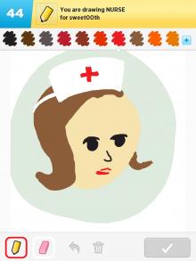 Drawsomething Nurse