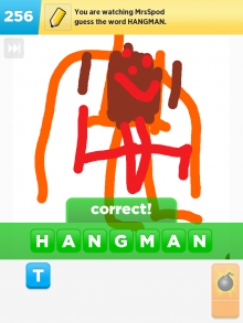 Drawsomething Hangman (by Monica)