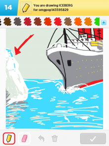 Drawsomething Iceberg