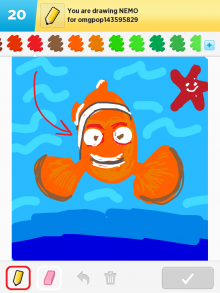 Drawsomething Nemo
