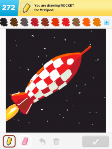 Drawsomething Rocket