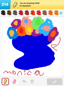 Drawsomething Vase (by Monica)