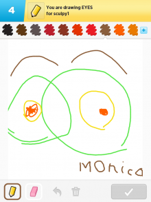 Drawsomething Eyes (by Monica)