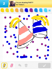 DrawSomething Party (by Monica)