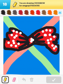Drawsomething Crossbow (by Monica)